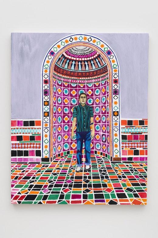 "Raffi Kalenderian ""Andrew (Powell Library),"" 2019"