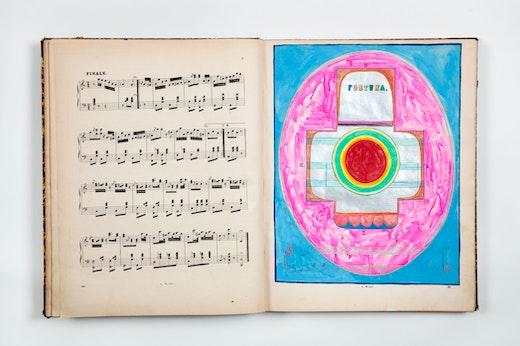 """Sarah Cain """"Music Book,"""" 2008-2019"""