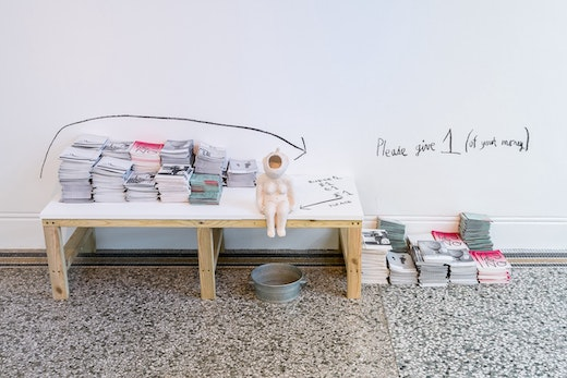 """This is an artwork titled Installation view of """"Amy Sillman: Landline,"""" at Camden Arts Centre by artist Amy Sillman made in 2018"""