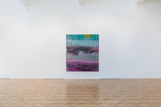 "Amy Sillman Installation view of ""Amy Sillman: Landline,"" at Camden Arts Centre, 2018 Photo: Damian Griffiths"