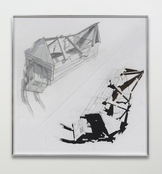 """Edgar Arceneaux """"A Number of Intersections (A Collision of Belief Systems #2),"""" 2015"""