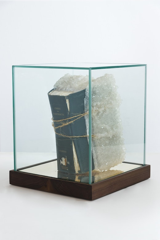 "Edgar Arceneaux ""Cases on Contracts,"" 2019"