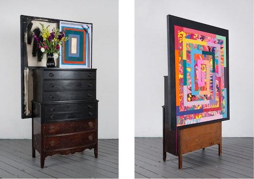 "Sarah Cain ""(Untitled) dresser,"" 2015"