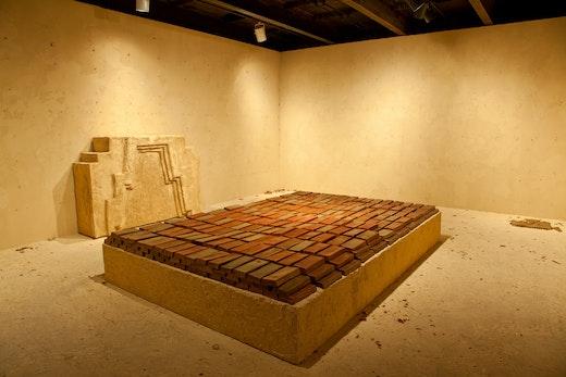 RANSOM ROOM:(Stage III: Meltdown), 2014 SculptureCenter, Installation view 17 x 22 x 10 feet