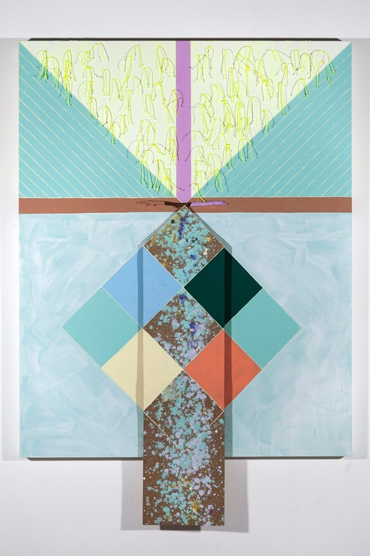 "Sarah Cain ""Yoni Wolf,"" 2012"