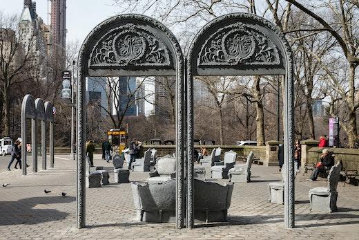 Open House, 2017 Public Art Fund, Installation view
