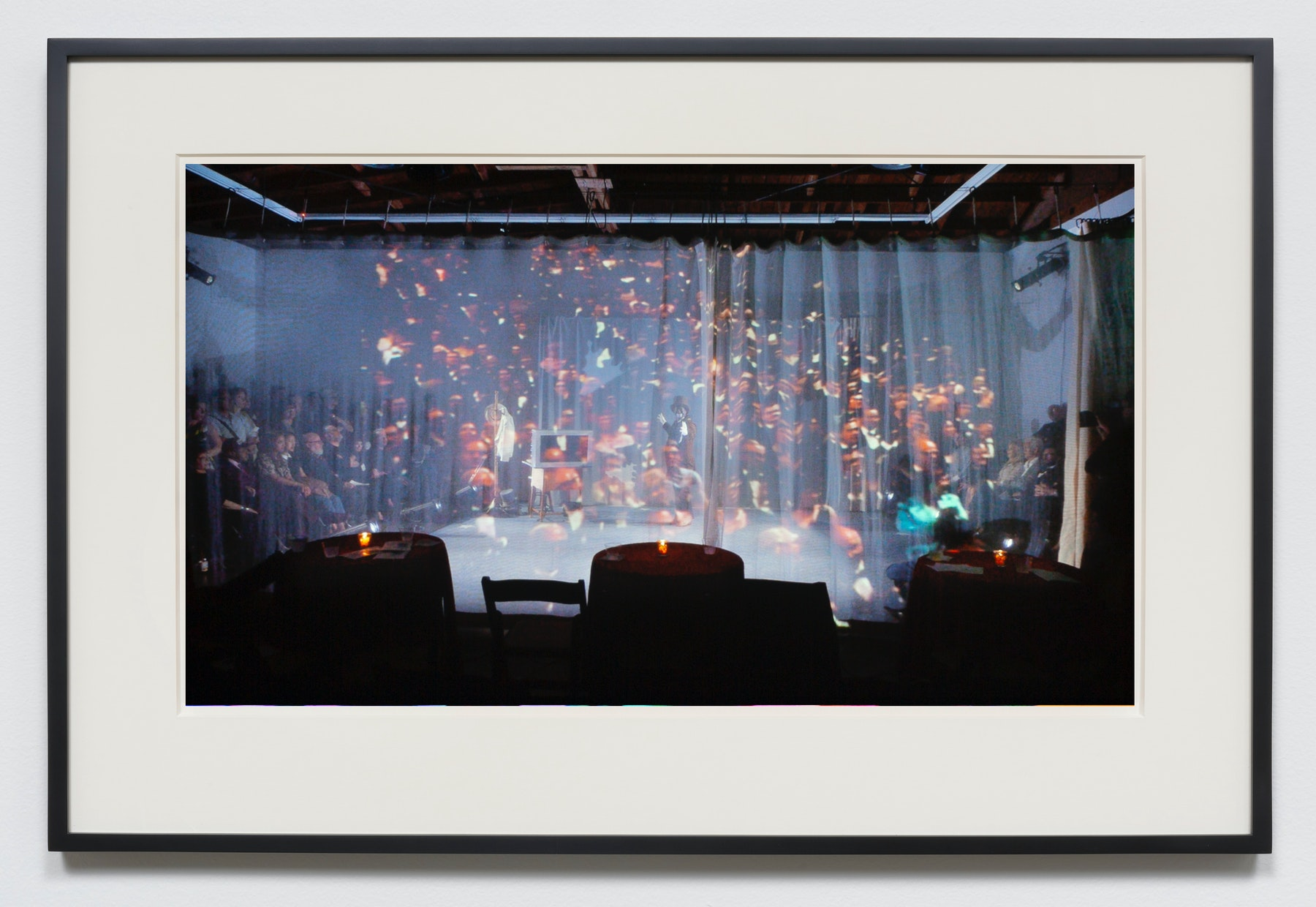 "Edgar Arceneaux ""These My Friends,"" 2015-2020 Photographic print 20 x 36"" [HxW] (50.8 x 91.44 cm) unframed, 23.5 x 39.5 x 2"" [HxWxD] (59.69 x 100.33 x 5.08 cm) framed Edition 1 of 5, 2 AP Inventory #ARC625.01 Courtesy of the artist and Vielmetter Los Angeles"