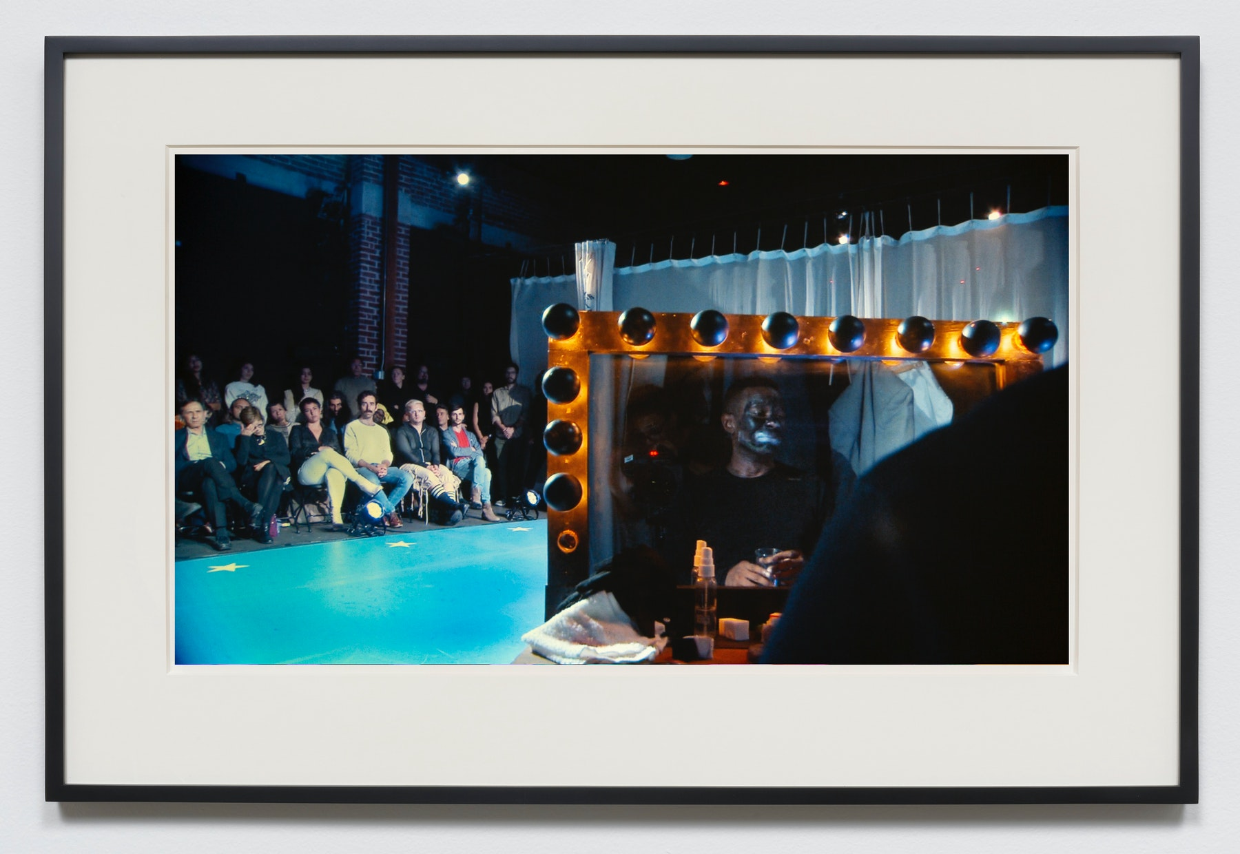 """Edgar Arceneaux """"Done Nothin' To Nobody,"""" 2015-2020 Photographic print 20 x 36"""" [HxW] (50.8 x 91.44 cm) unframed, 23.5 x 39.5 x 2"""" [HxWxD] (59.69 x 100.33 x 5.08 cm) framed Edition 1 of 5, 2 AP Inventory #ARC628.01 Courtesy of the artist and Vielmetter Los Angeles"""