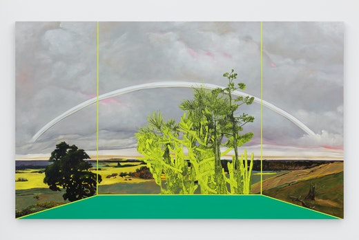 "Whitney Bedford ""Veduta, (Friedrich/ White Rainbow),"" 2019"