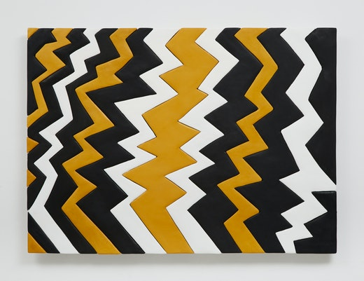 """Sadie Benning """"Zig Zag Yellow,"""" 2014"""