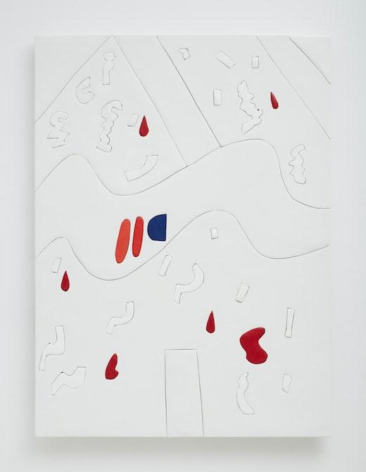 """Sadie Benning """"Irritation Painting,"""" 2014"""