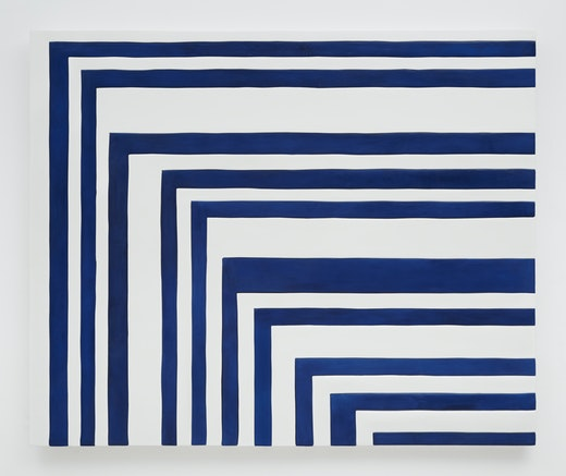 "Sadie Benning ""Blue and White Zig Zag,"" 2014"