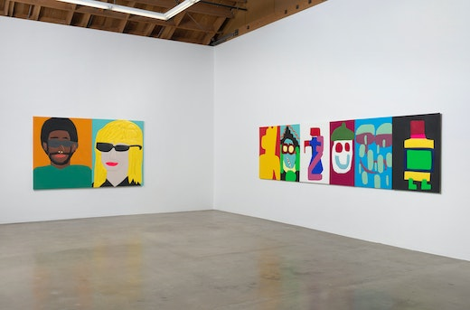 """""""Blinded by the Light,"""" Installation View"""