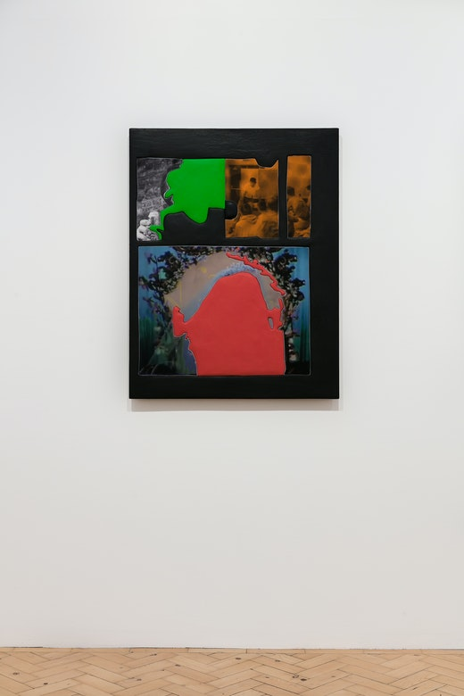 """Sleep Rock,"" Installation View"