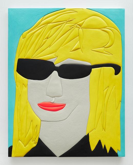 "Sadie Benning ""Sunglasses Person 2,"" 2016"