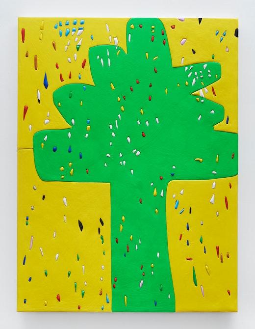 """Sadie Benning """"Yellow Tree,"""" 2017"""