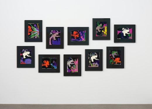 Ellen Berkenblit Installation View