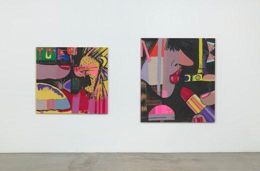 Ellen Berkenblit: Paintings Installation view