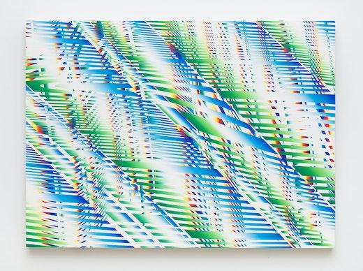"Linda Besemer ""Wave Interference,"" 2019"