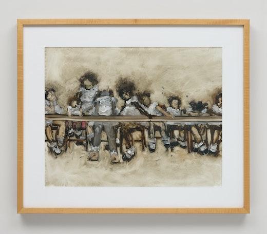 "Kim Dingle ""(Study for the Last Supper at Fatty's),"" 2006"