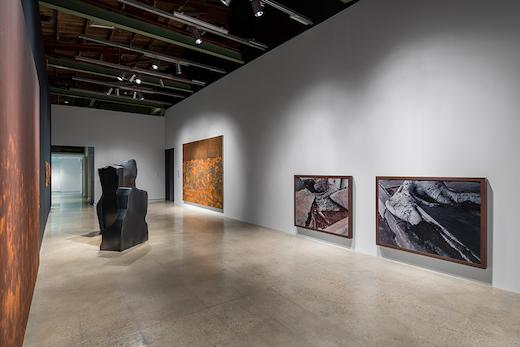 "Ruben Ochoa Installation view ""The Sorcerer's Burden: Contemporary Art and the Anthropological Turn,"" The Contemporary Austin, Austin, Texas, 2019"