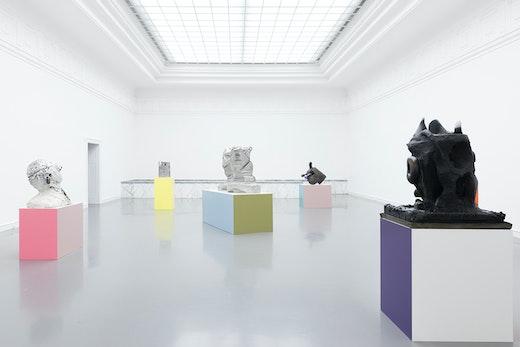 """Nicole Eisenman """"Baden Baden Baden"""" at Staatliche Kunsthalle Baden-Baden (November 3, 2018–February 17, 2019) Installation view"""