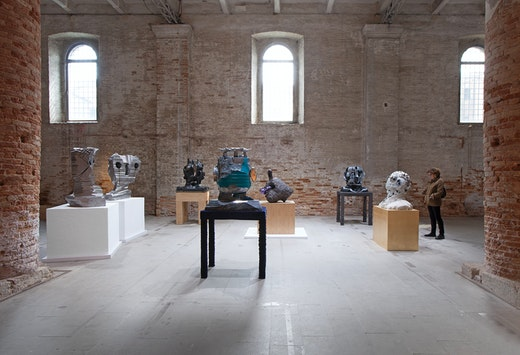 """Nicole Eisenman 58th Venice Biennale """"May You Live In Interesting Times"""" (May 11–September 24, 2019), Arsenale, Venice, Italy Installation view"""