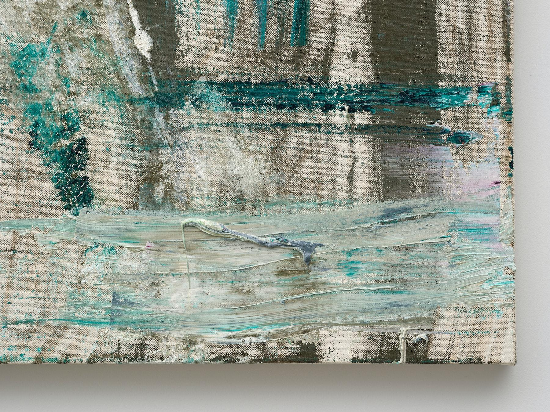 "Louise Fishman ""JASPER,"" 2016 Oil on linen 30"" x 30"" [HxW] (76.2 x 76.2 cm) Inventory #FIS158 Courtesy of the artist and Vielmetter Los Angeles Photo credit: Jeff McLane"