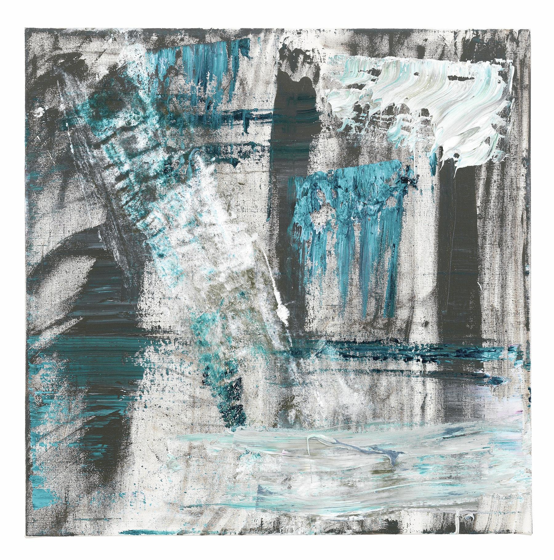 "Louise Fishman ""JASPER,"" 2016 Oil on linen 30 x 30"" [HxW] (76.2 x 76.2 cm) Inventory #FIS158 Courtesy of the artist and Vielmetter Los Angeles"