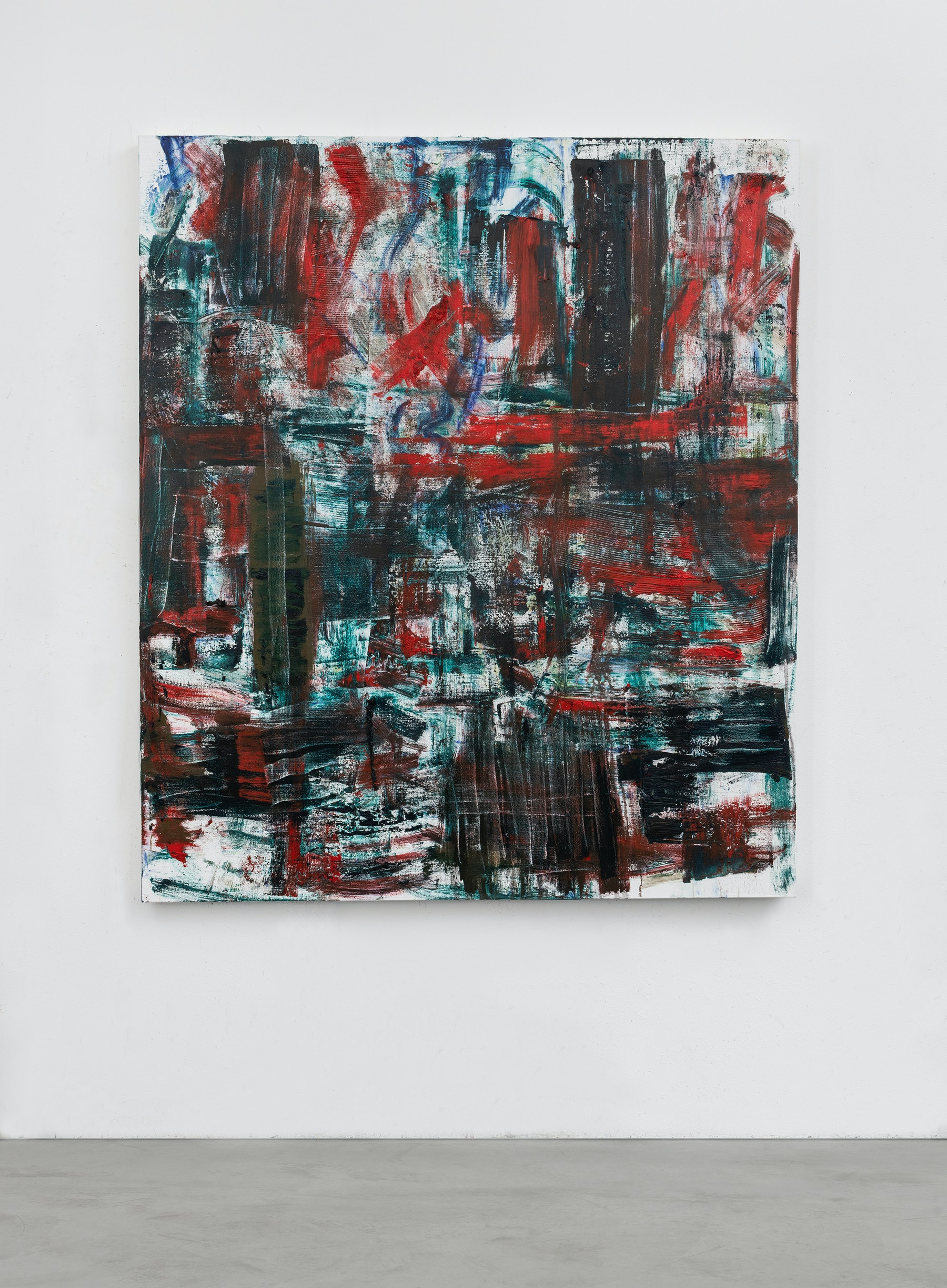 """Louise Fishman """"RADICAL HOPE,"""" 2020 Oil on linen 66 x 57"""" [HxW] (167.64 x 144.78 cm) Inventory #FIS159 Courtesy of the artist and Vielmetter Los Angeles Photocredit Adam Reich, NY"""