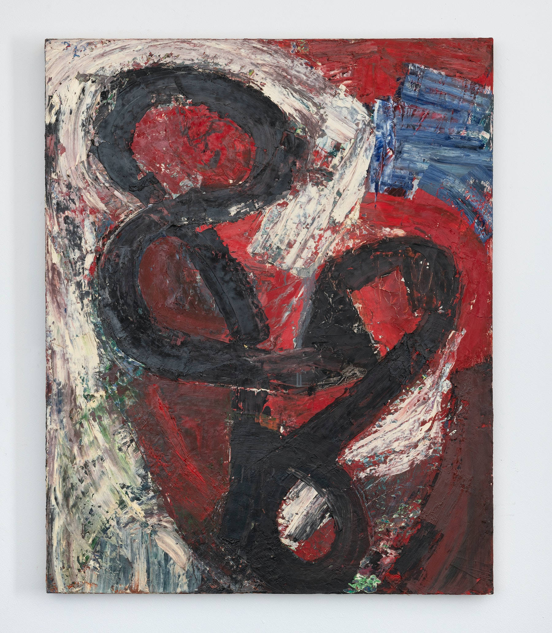 """Louise Fishman """"DUTIES OF THE HEART,"""" 1984 Oil on linen 40 x 32"""" [HxW] (101.6 x 81.28 cm) Inventory #FIS173 Courtesy of the artist and Vielmetter Los Angeles Photo credit: Adam Reich"""