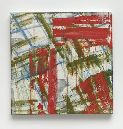 "Louise Fishman ""A Rush of Hard Consonants,"" 2018"