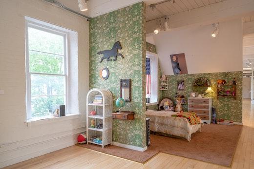 "Genevieve Gaignard Installation view, ""Still I Rise"" at MASS MOCA (June 15, 2019–May 25, 2020)"