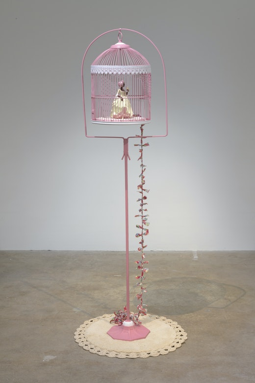 "Genevieve Gaignard ""The Great Escape/Migration (Pink),"" 2019"