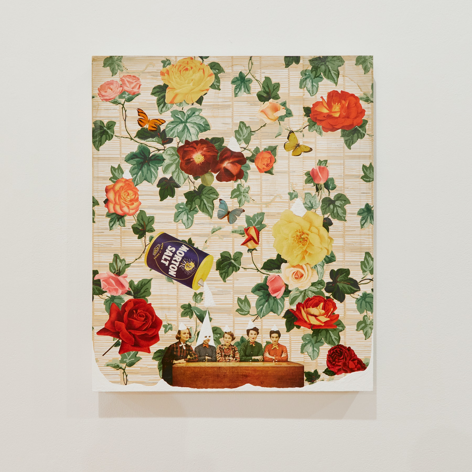 "Genevieve Gaignard ""Salty Karens,"" 2020 Mixed media on panel 24 x 20 x 1.5"" [HxWxD] (60.96 x 50.8 x 3.81 cm) Inventory #GEN322 Courtesy of the artist and Vielmetter Los Angeles Photo credit: Megan Haley"