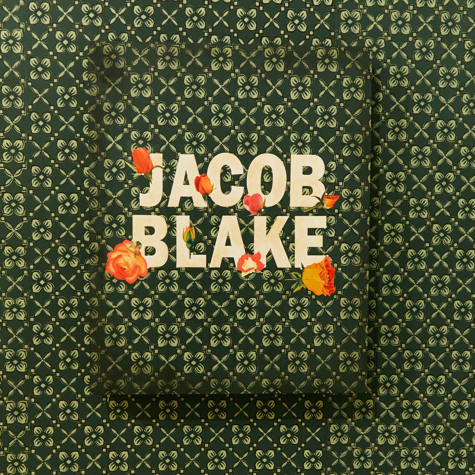 "Genevieve Gaignard ""Untitled (Jacob Blake),"" 2020 Mixed media on panel 20 x 16 x 1.5"" [HxWxD] (50.8 x 40.64 x 3.81 cm) Inventory #GEN325 Courtesy of the artist and Vielmetter Los Angeles Photo credit: Megan Haley"