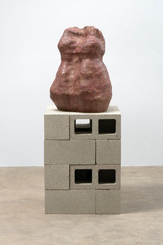 """Liz Glynn """"Untitled (Body / Stone),"""" 2019"""