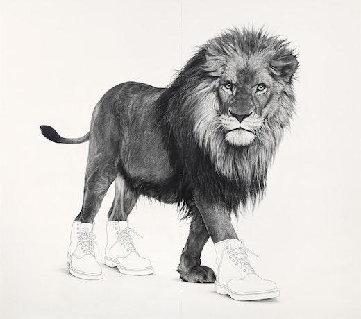 "Karl Haendel ""Lion 6,"" 2020"