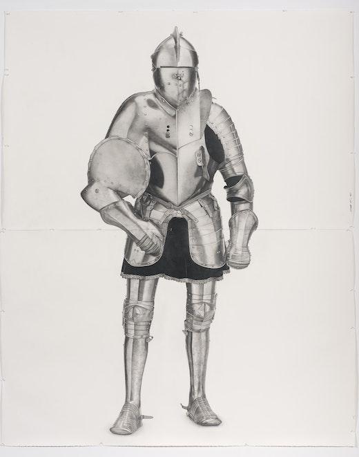 "Karl Haendel ""Knight #5,"" 2011"