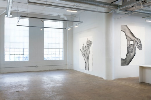 "Karl Haendel ""Double Dominant"" Part I Installation view"