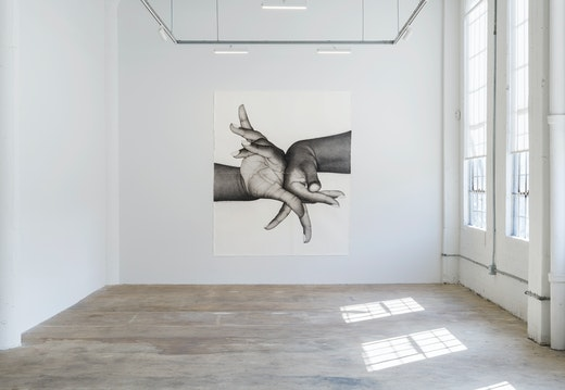 "Karl Haendel ""Double Dominant"" Part II Installation view"