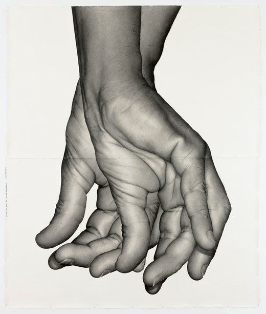 "Karl Haendel ""Double Dominant 5 (Edgar Arceneaux),"" 2018"