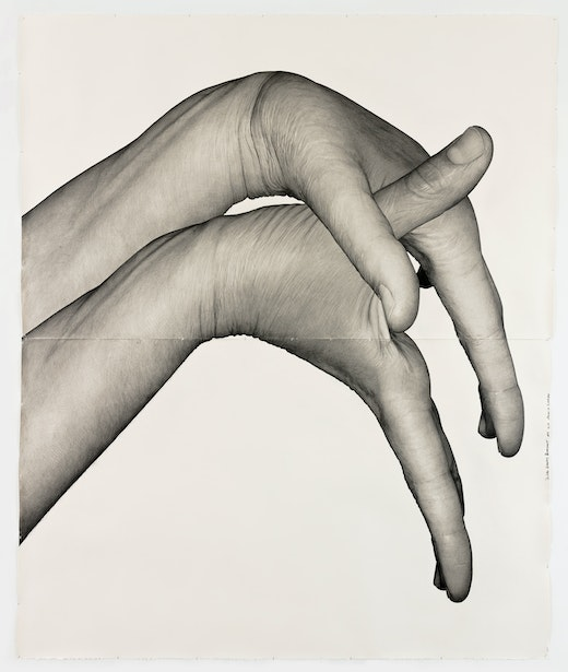 "Karl Haendel ""Double Dominant 9 (Analia Saban),"" 2019"