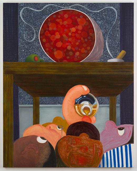 "Nicole Eisenman, ""Under the Table 1"", 2014"