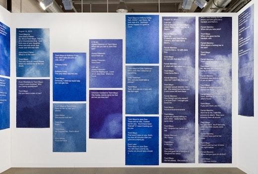 Art Basel Booth Installation