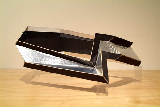 This is an artwork titled Model for Logo for the Encounter by artist Alice Könitz made in 2006