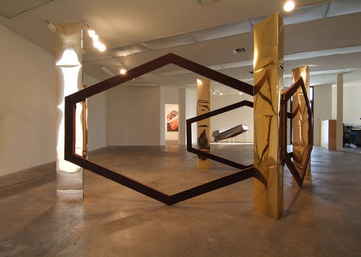 This is an artwork titled Mall Sculpture by artist Alice Könitz made in 2006