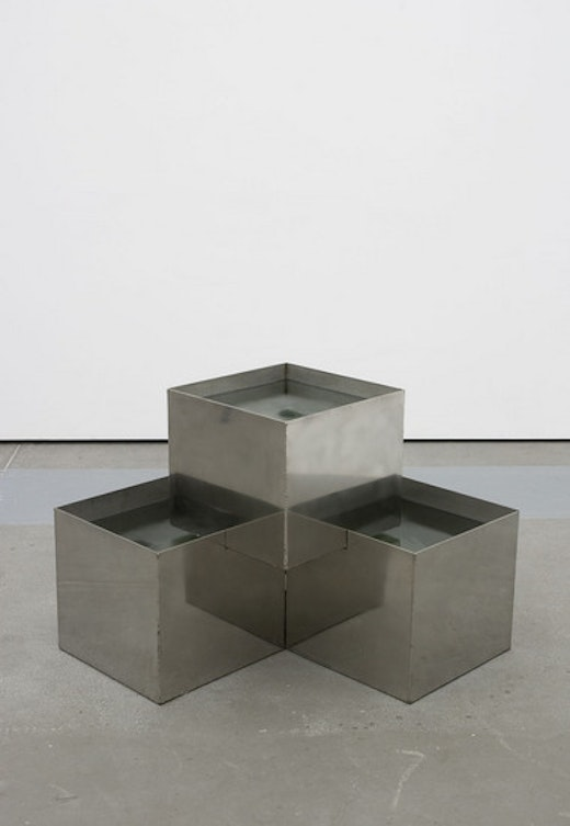 This is an artwork titled Fountain by artist Alice Könitz made in 2008