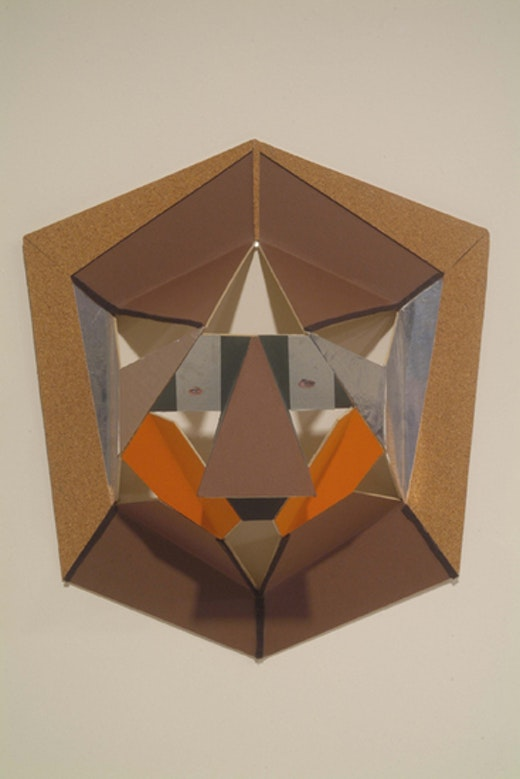 This is an artwork titled Untitled Mask by artist Alice Könitz made in 2003