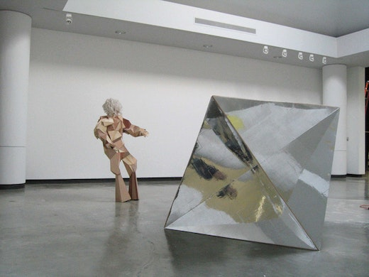 This is an artwork titled Installation View by artist Alice Könitz made in 2004